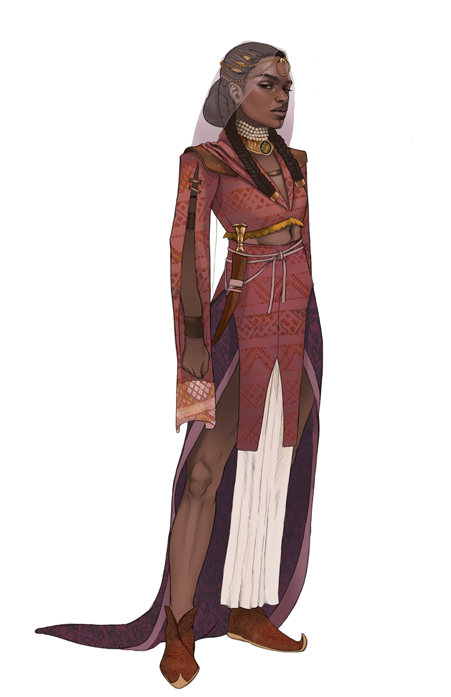 An image of the player character, The Princess